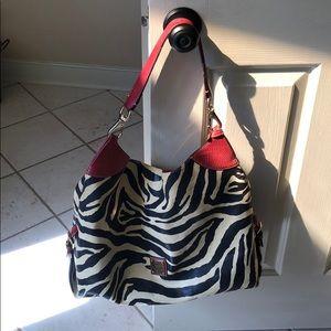 Dooney & Bourke Zebra Tote